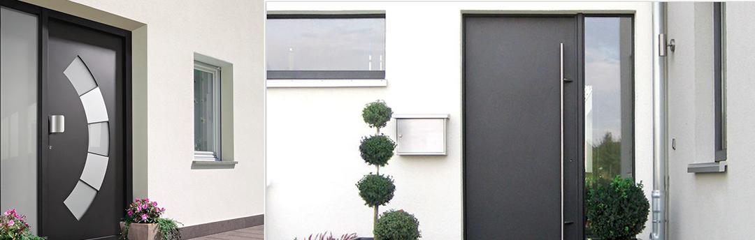 Portoncini pvc alluminio lecco gitici serramenti for Porte per esterno in pvc